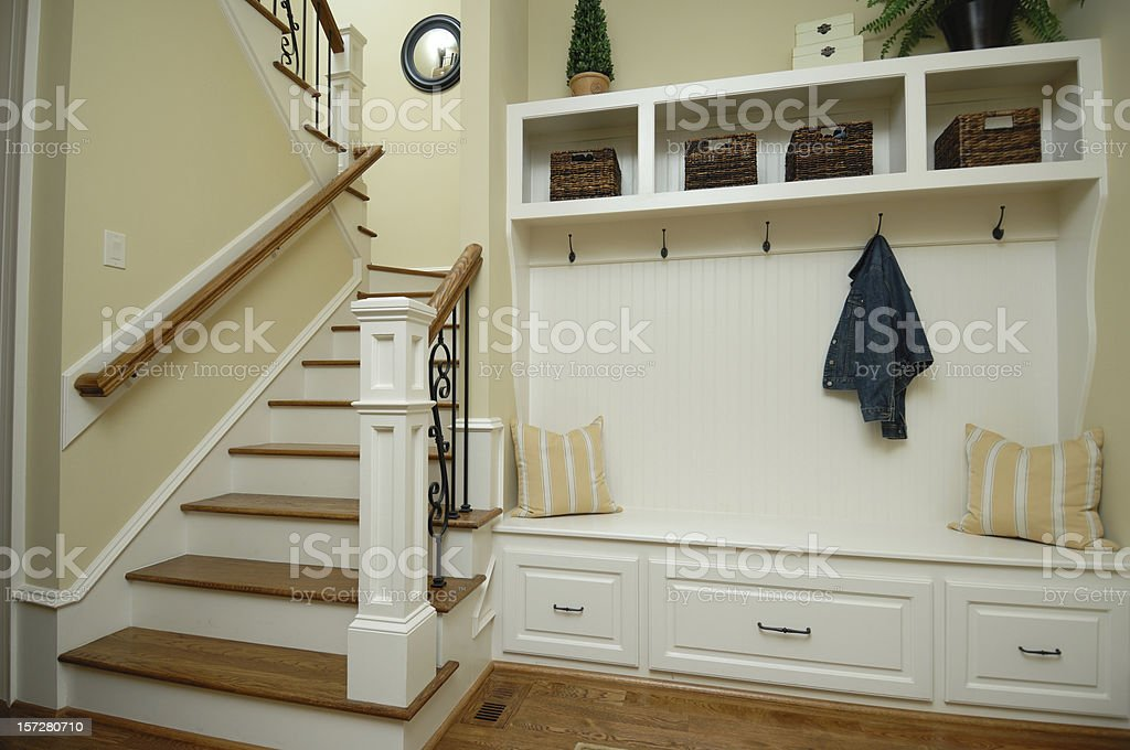Mud Room stock photo