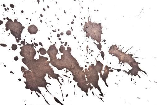 mud splatter