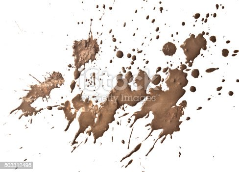 Mud Splatter Stock Photo Amp More Pictures Of Blob Istock