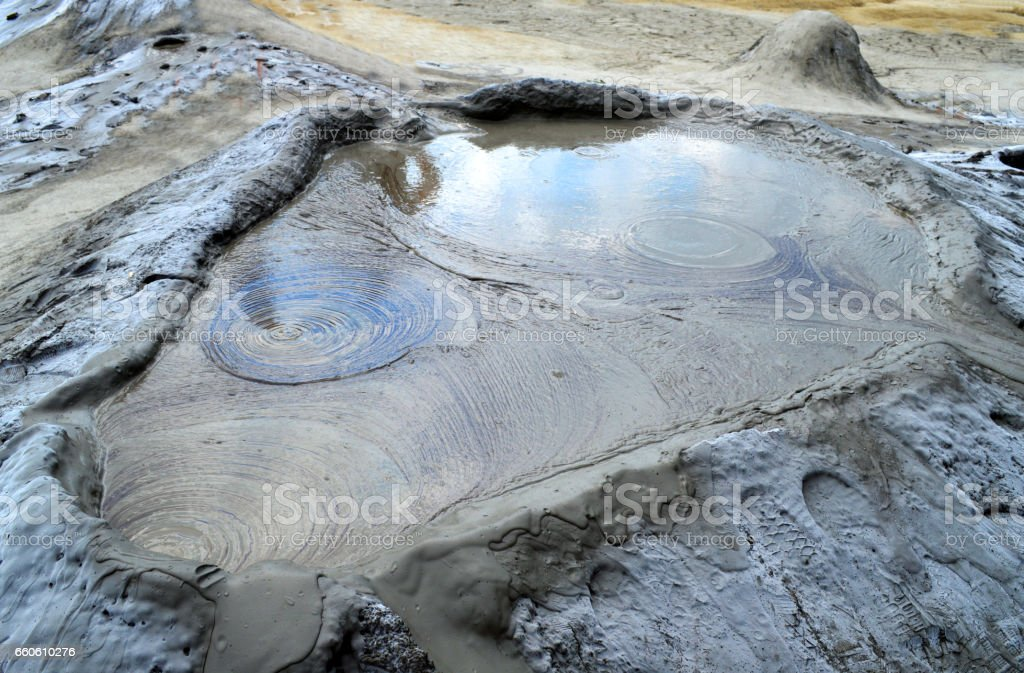 Mud Volcano royalty-free stock photo