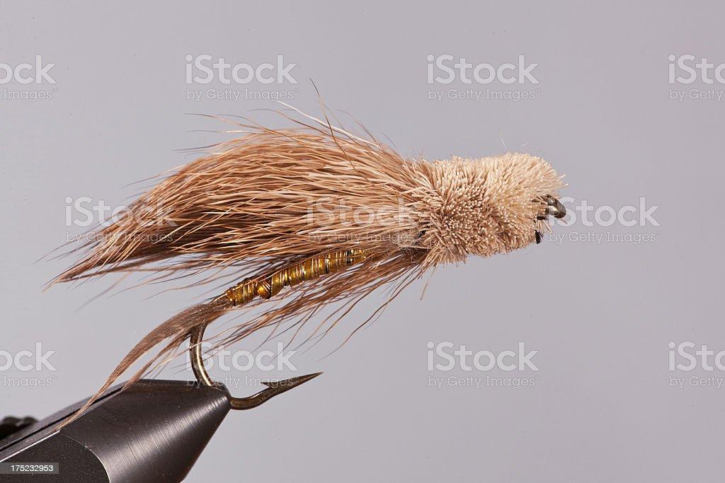 Muddler Minnow Streamer royalty-free stock photo