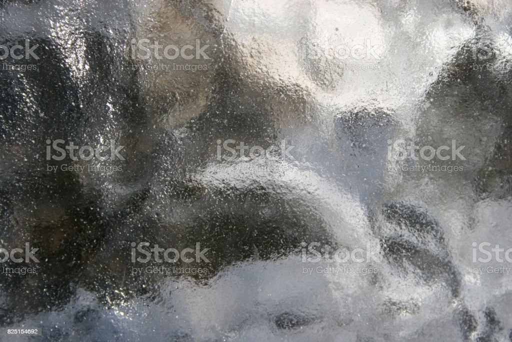 Muddy blurry gray glass texture background royalty-free stock photo