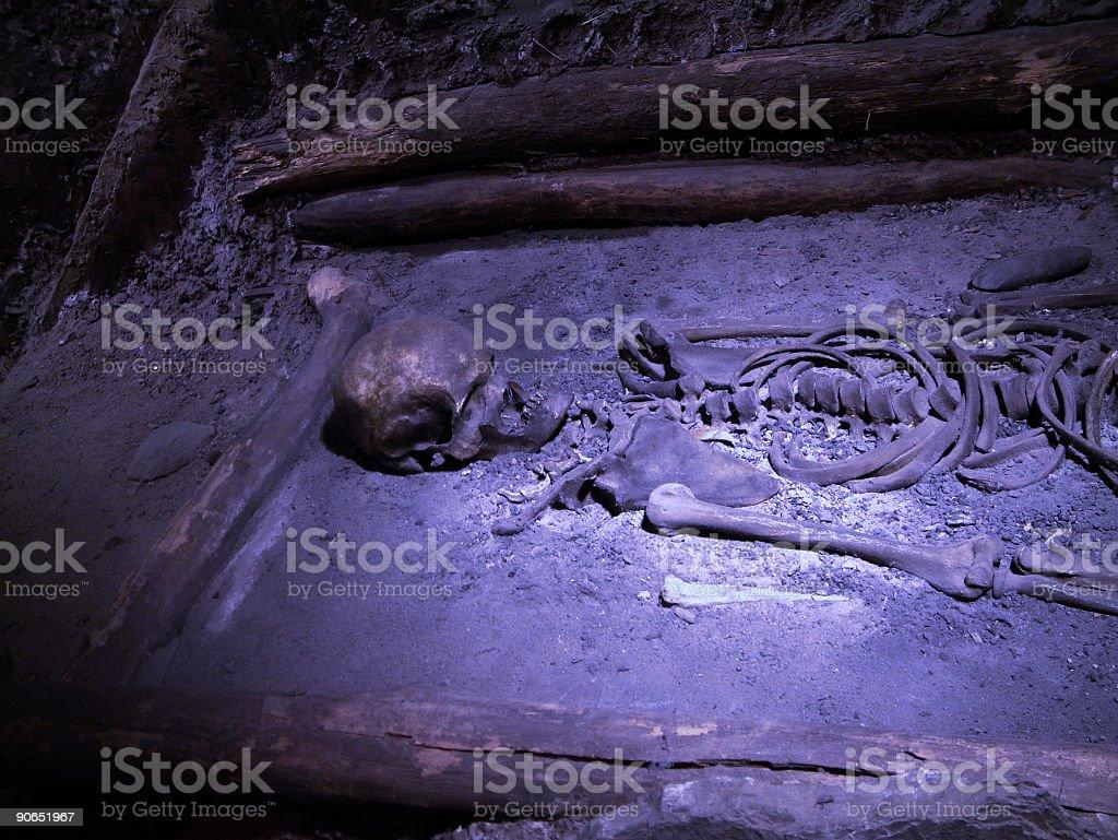 Muddy Grave 2 royalty-free stock photo