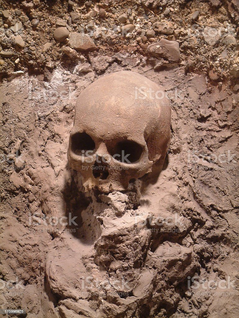 Muddy Grave royalty-free stock photo
