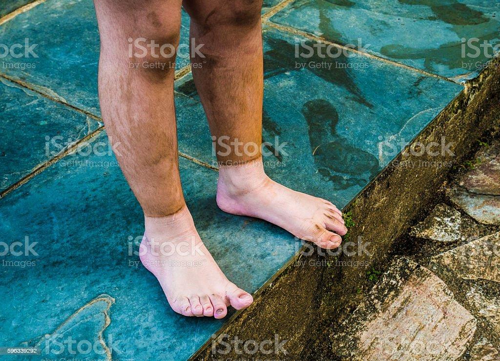 Muddy Legs Lizenzfreies stock-foto