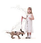 istock muddy puppy 468887601