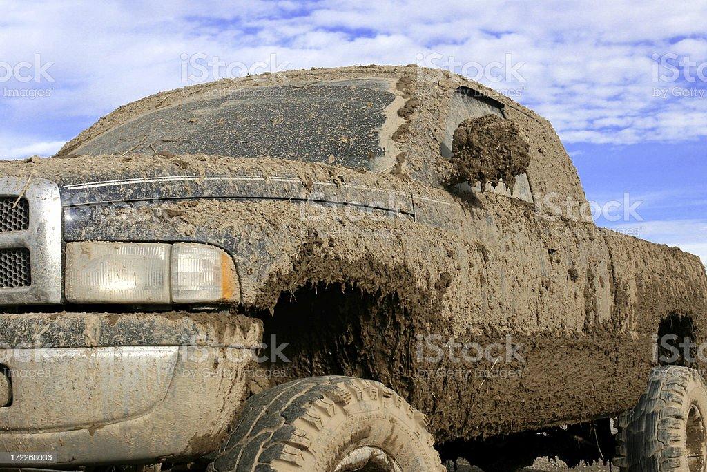 Muddy camión - foto de stock
