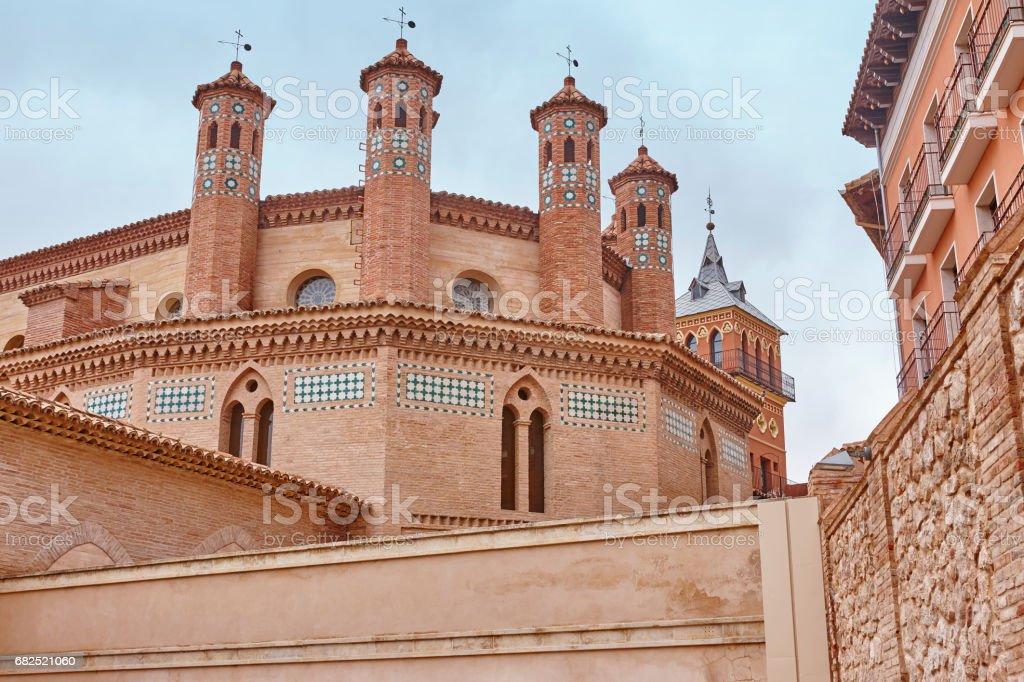 Mudejar Kunst in Teruel. San Pedro Apsis. Spanien-Erbe – Foto