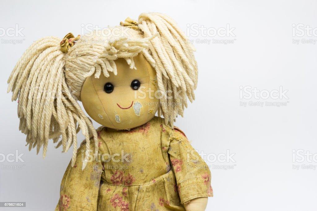 Muñeca estropeada - foto de acervo