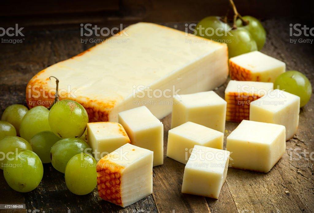 Muenster Cheese stock photo