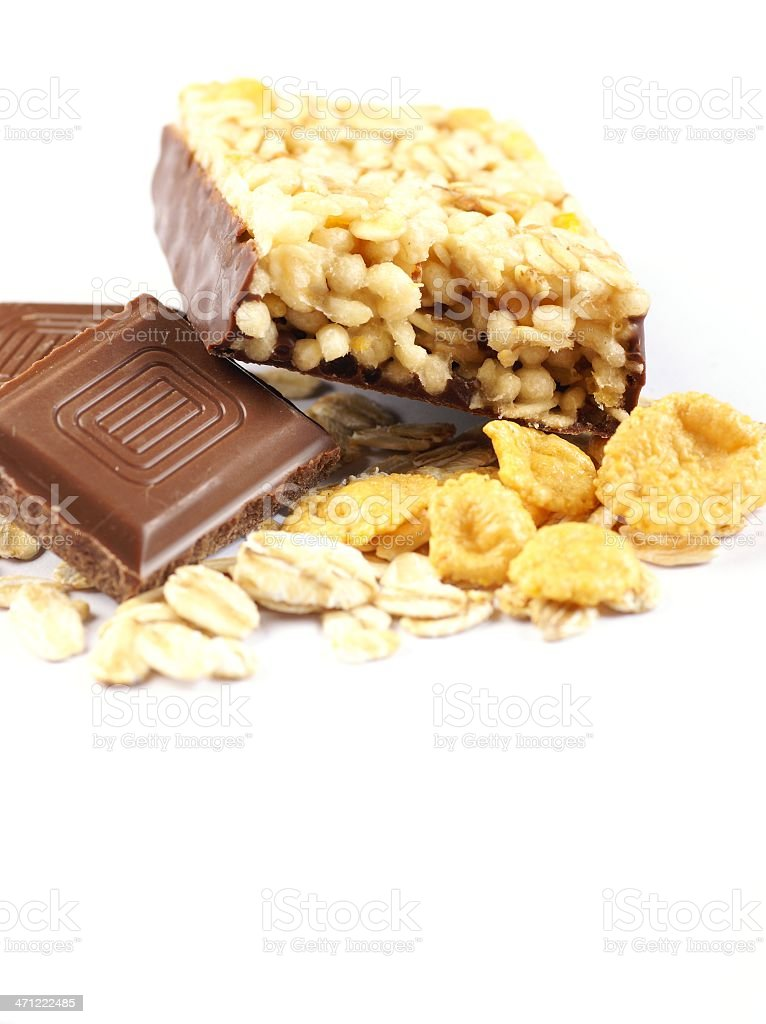 Muesli bar royalty-free stock photo