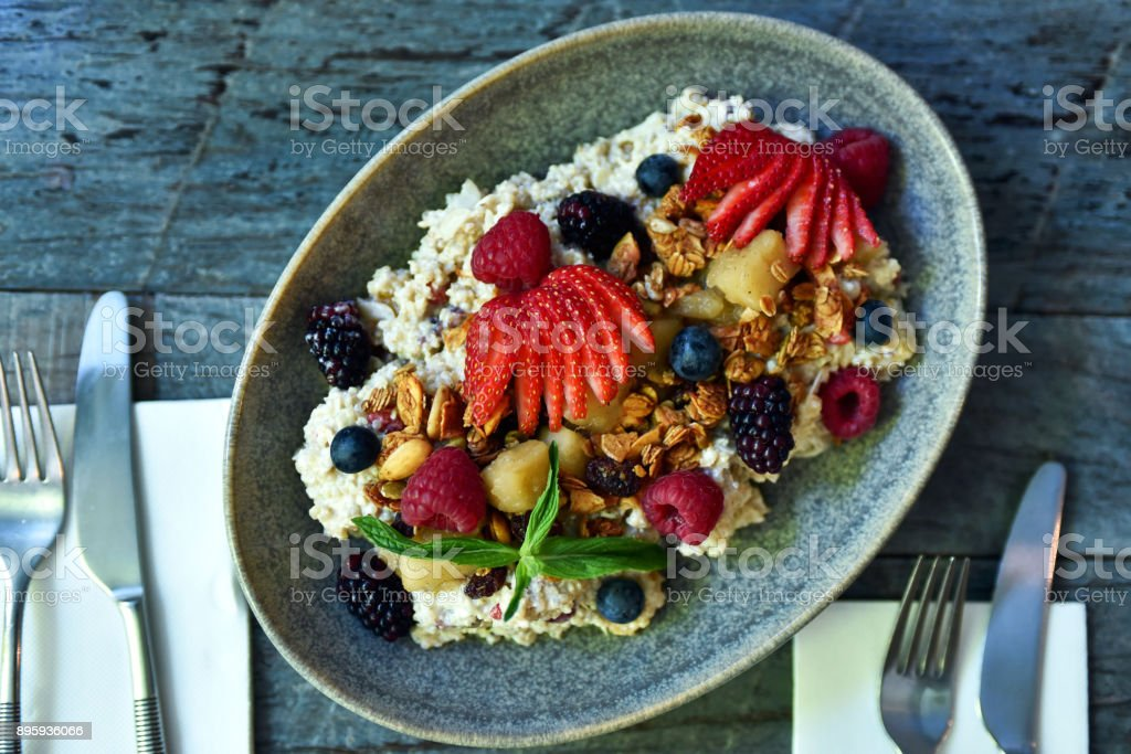 Muesli petit déjeuner - Photo