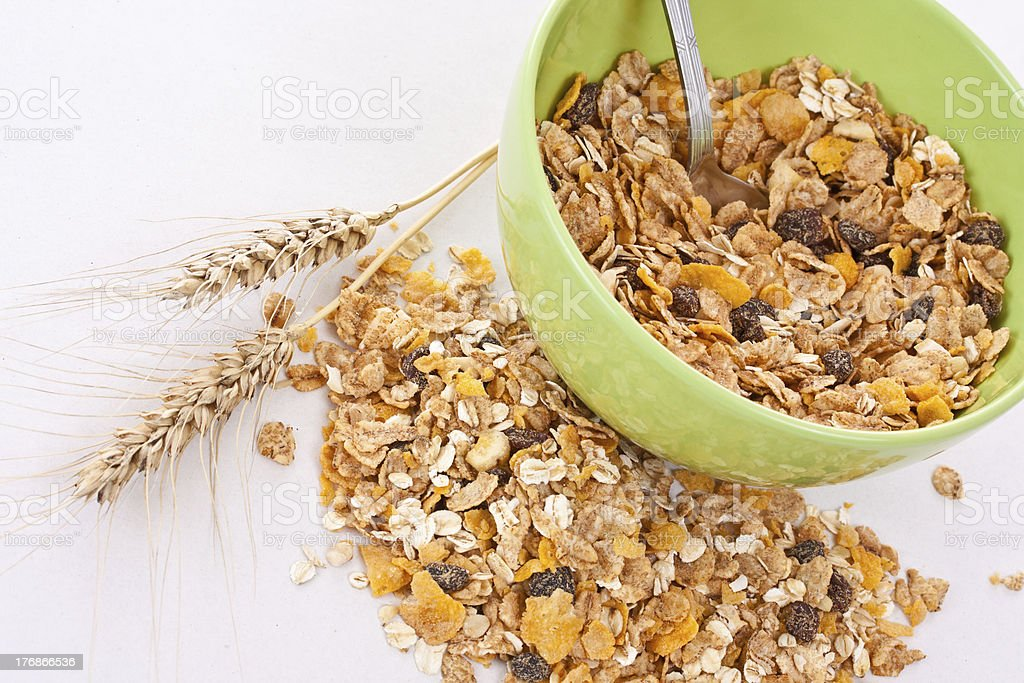 muesli royalty-free stock photo