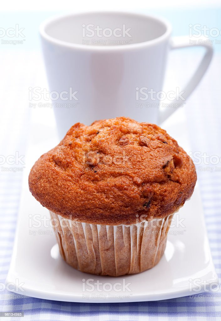 Muffin e caffè foto stock royalty-free