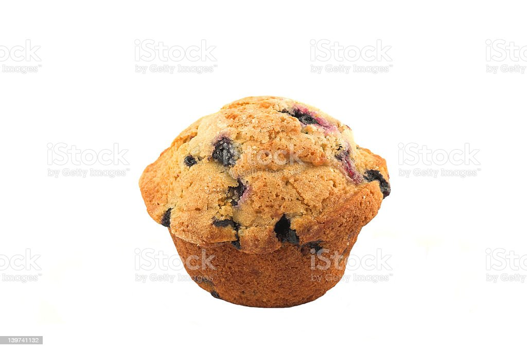 Muffin Blueberry stock photo