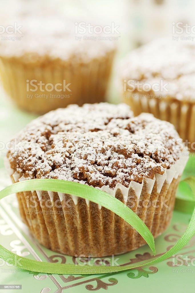 Muffin Closeup royalty-free stock photo