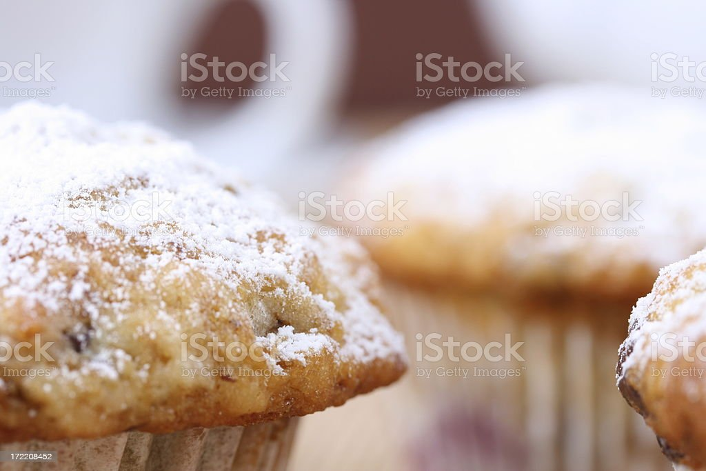 Muffins Close-Up royalty-free stock photo