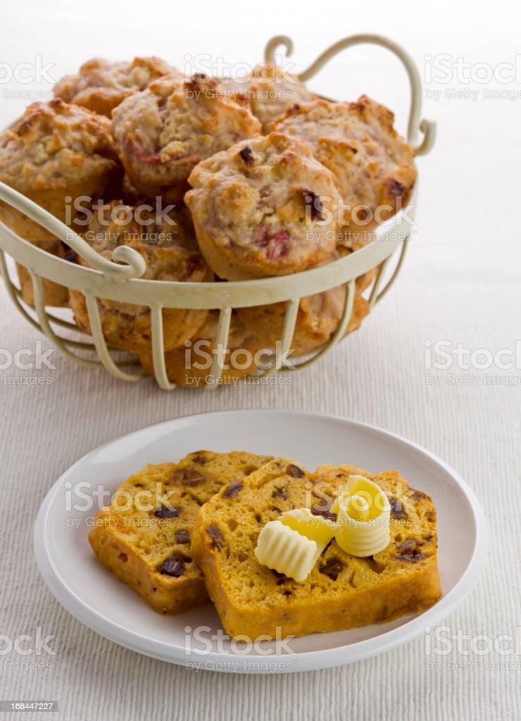 Muffins stock photo