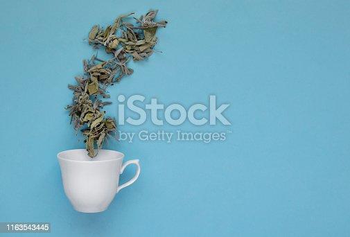 mug and tea concept