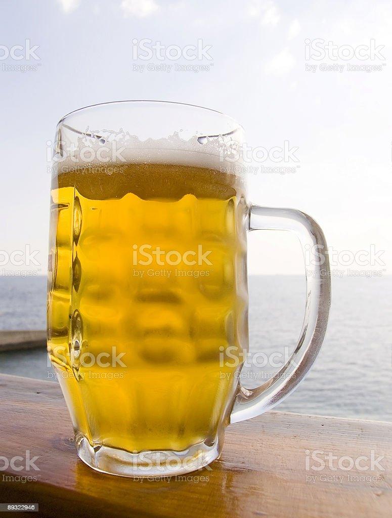Mug beer royalty-free stock photo