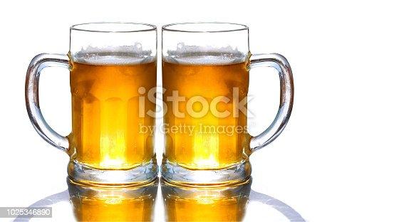 1144550840istockphoto Mug fresh beer isolated 1025346890