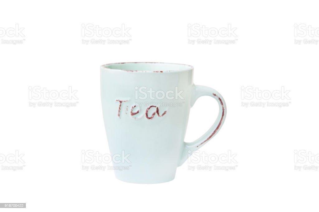 Mug  isolated female stock photo