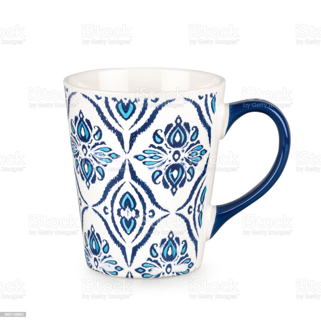 Mug isolated on white background with clipping path. - Royalty-free Breakfast Stock Photo
