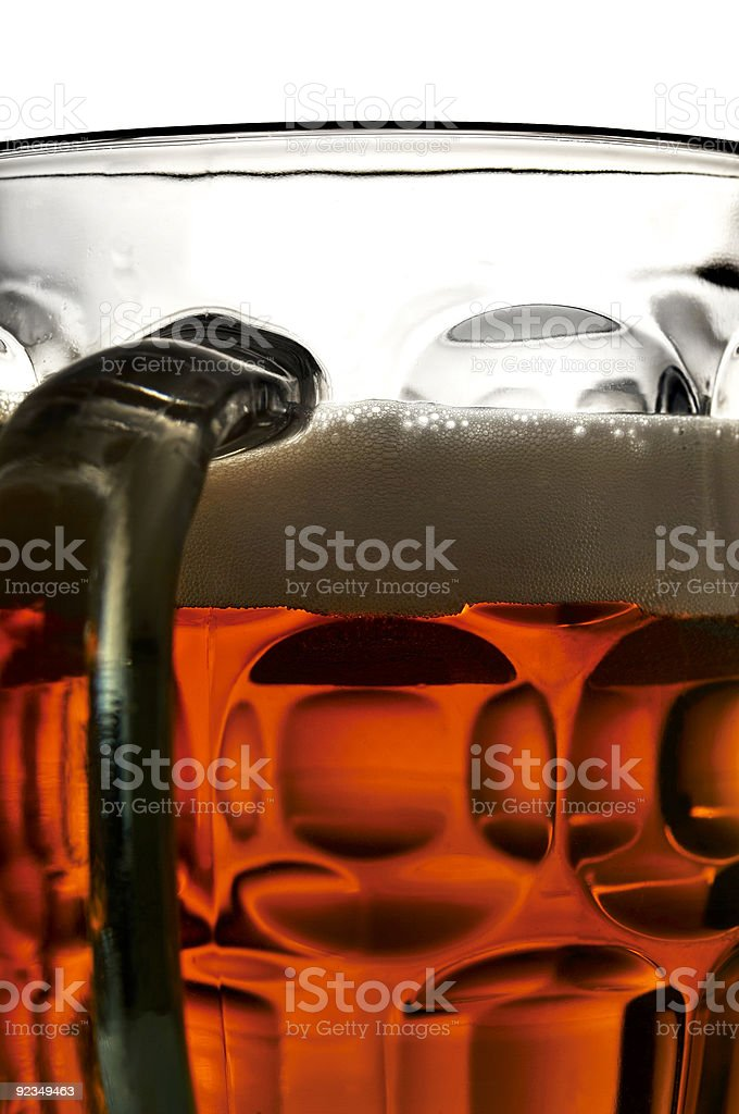 Mug O'beer royalty-free stock photo