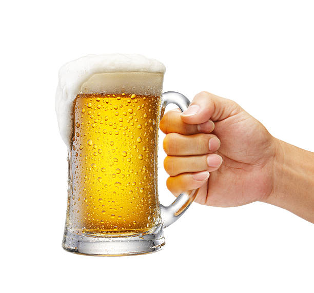 Taza de cerveza - foto de stock