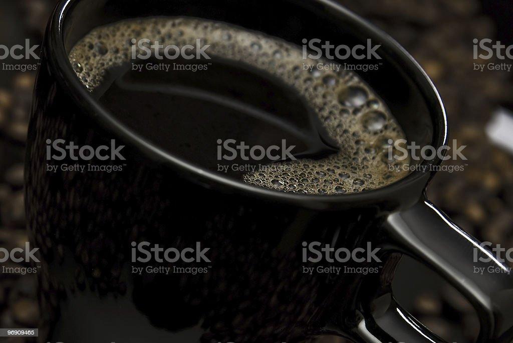 mug of coffee royalty-free stock photo