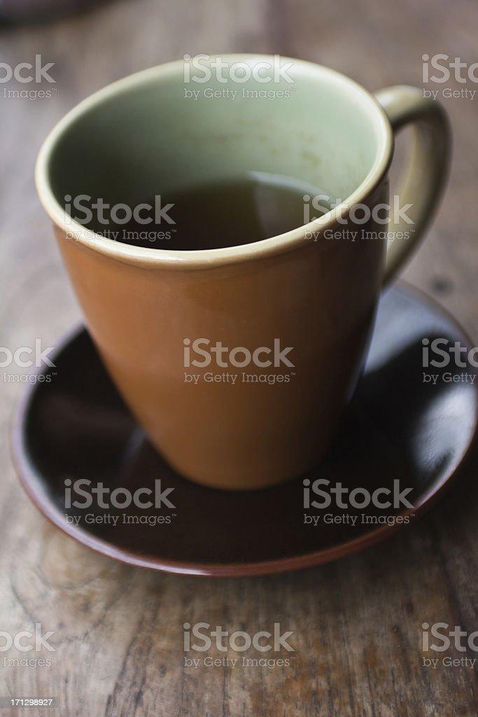 Mug of Peppermint Tea royalty-free stock photo