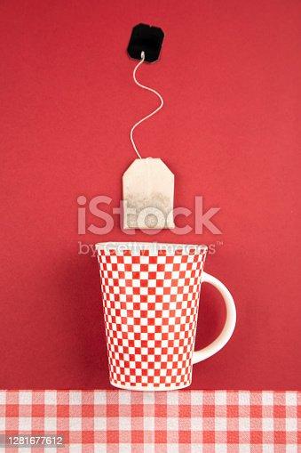 Mug with tea bag