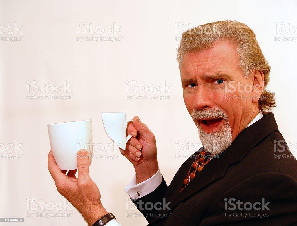 Mugging it up? royalty-free stock photo