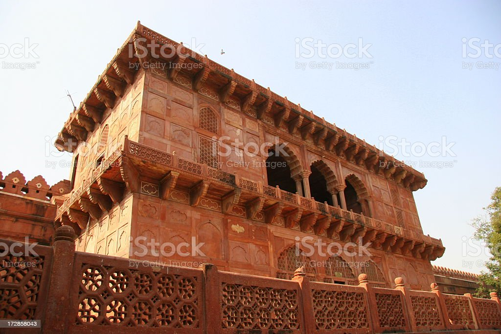 Mughal Architecture stock photo