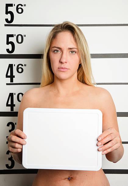 Naked female prisioner — 15