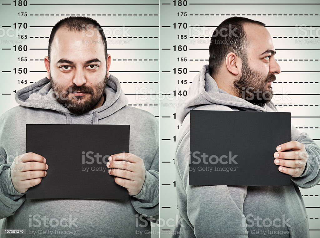 mugshot stock photo