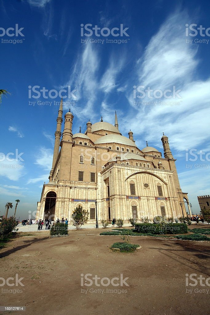 Muhamed Ali mosque stock photo