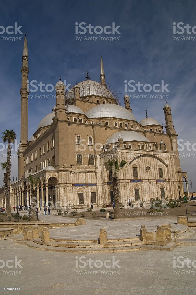 Muhammad Ali mosque royalty-free stock photo