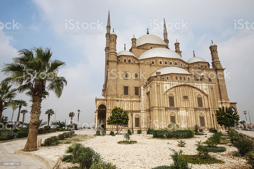 Muhammad Ali's mosque, Cairo, Egypt stock photo