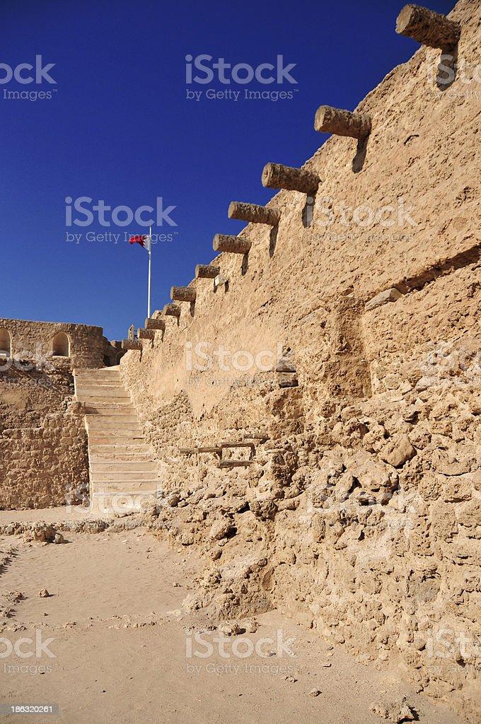 Muharraq Island, Bahrain, Middle East: Arad Fort royalty-free stock photo