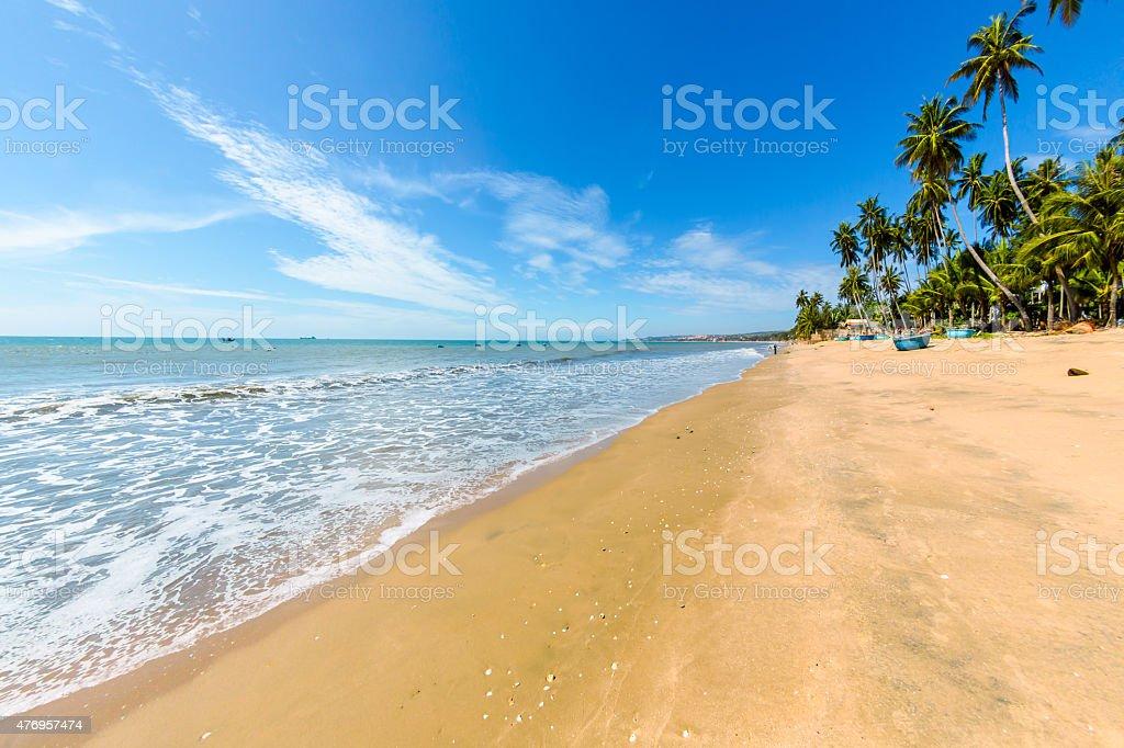 Strand von Mui Ne in Vietnam Süden – Foto