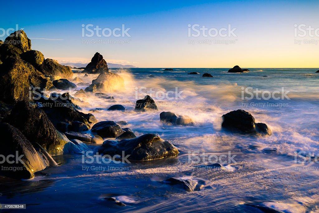 Muir Beach California stock photo