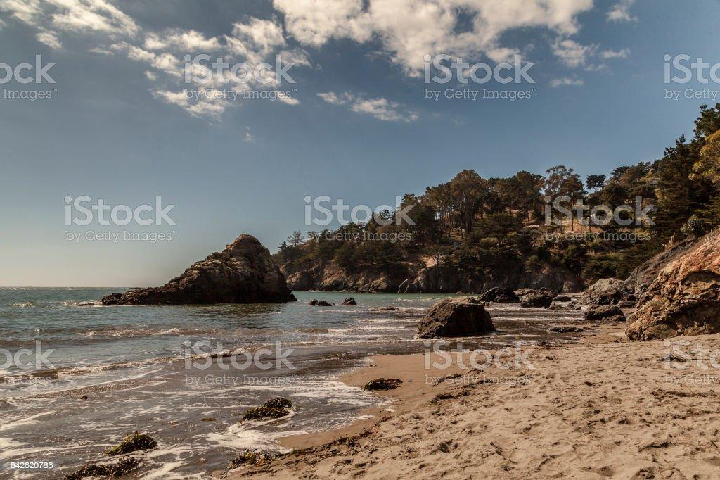 Muir Beach, California stock photo