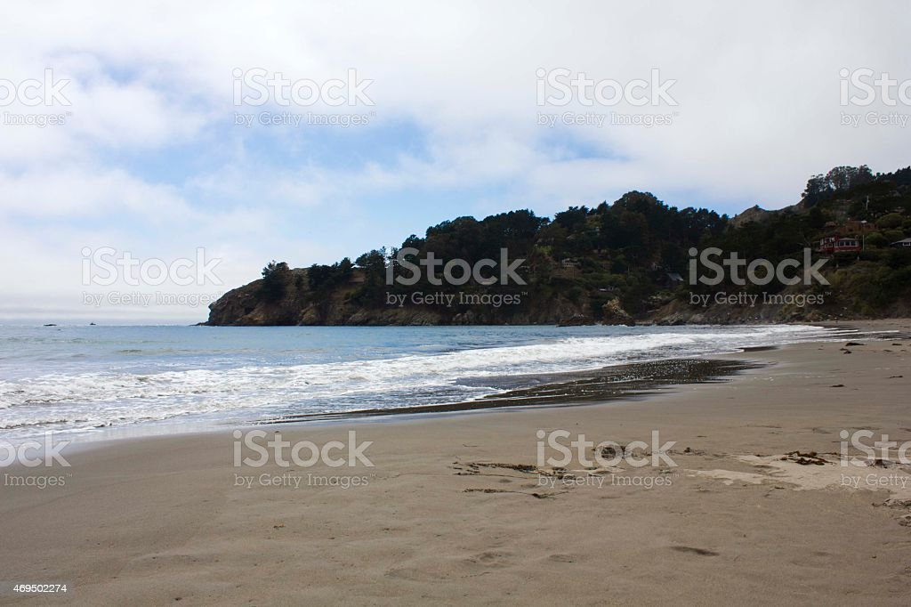 Muir Beach coastline stock photo