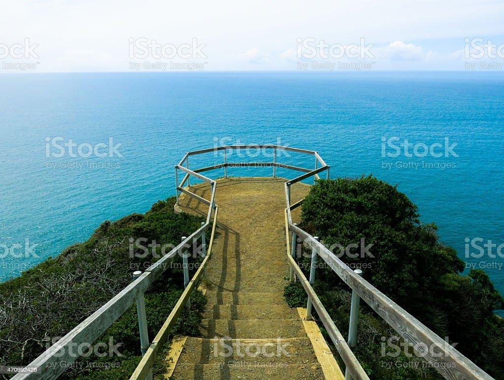 Muir Beach Overlook, California stock photo