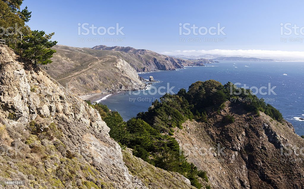 Muir Beach stock photo