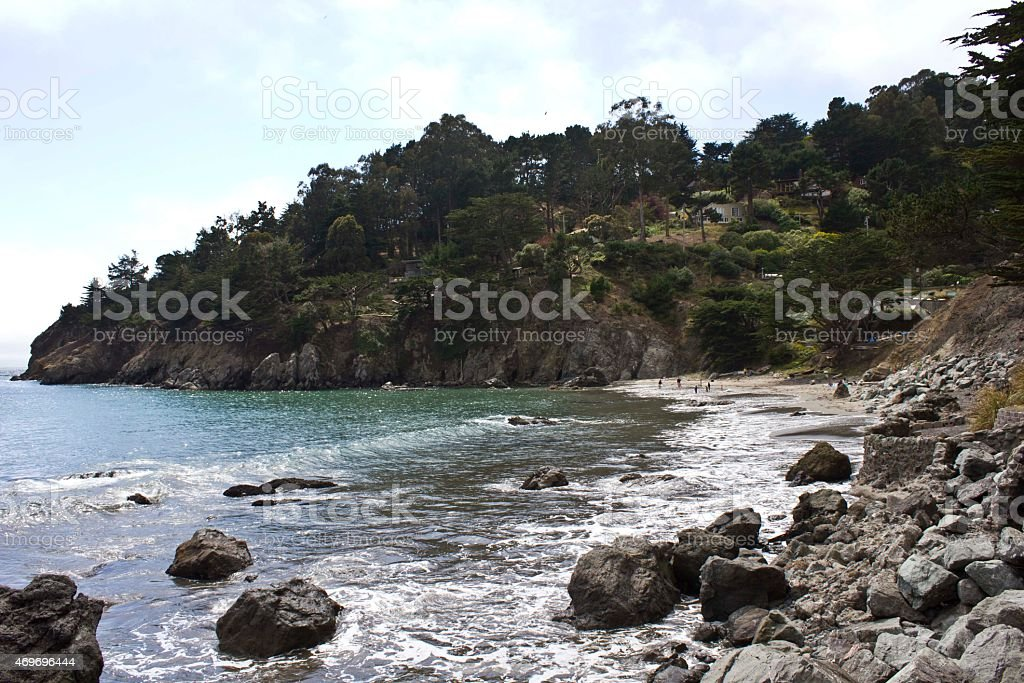 Muir Beach, Usa stock photo
