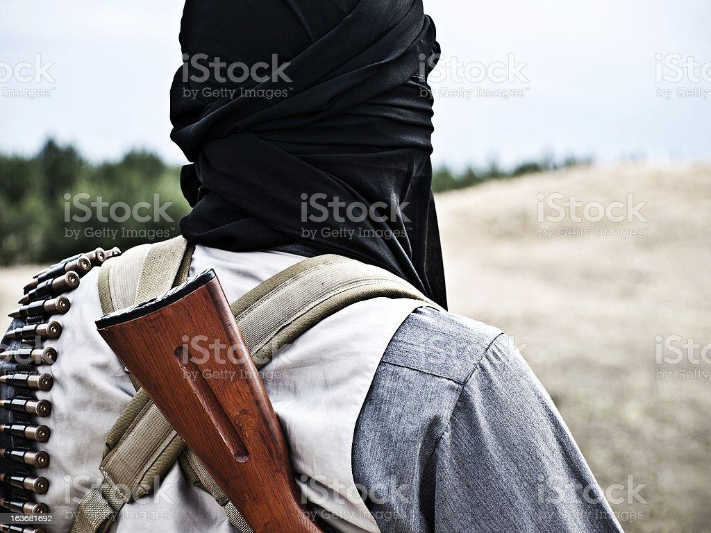 mujahid stock photo