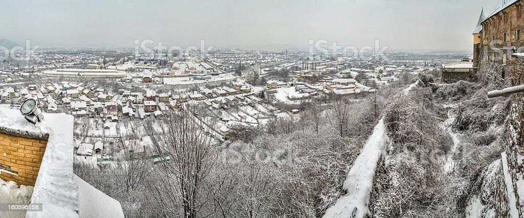 Mukachevo. Ukraine. royalty-free stock photo