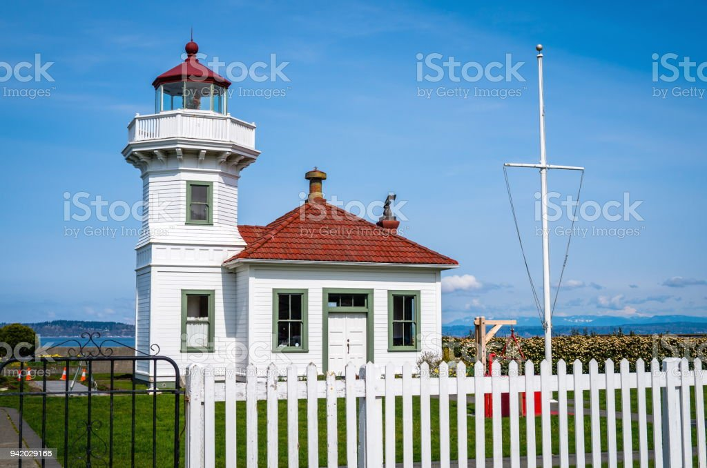 mukilteo lighthouse in washington state stock photo more pictures